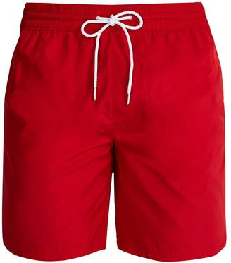 Burberry Logo side-striped swim shorts