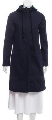 Tory Burch Twill Long Jacket