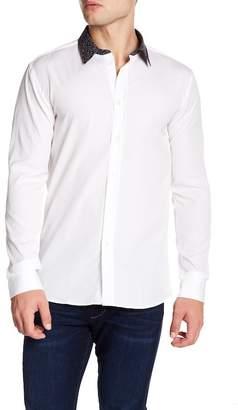BOSS Elisha Solid Extra Slim Fit Woven Shirt