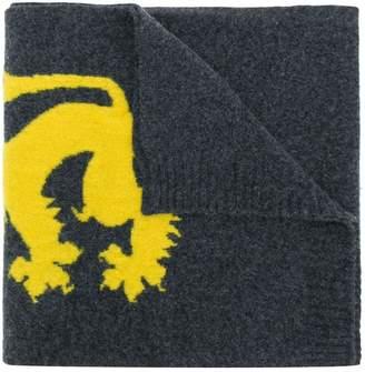Pringle lion emblem scarf