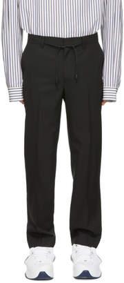 Juun.J Black Slim Trousers