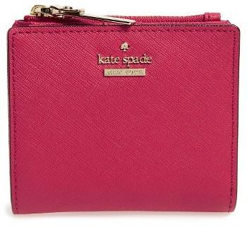 Kate SpadeWomen's Kate Spade New York Cameron Street - Adalyn Slim Leather Wallet - Pink