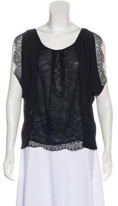 Joie Silk Lace Top
