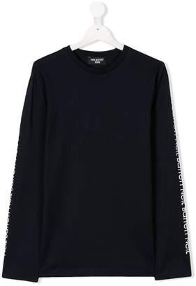 Neil Barrett Kids ロゴプリント Tシャツ