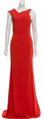 Roland Mouret Sleeveless Maxi Dress w/ Tags gold Sleeveless Maxi Dress w/ Tags