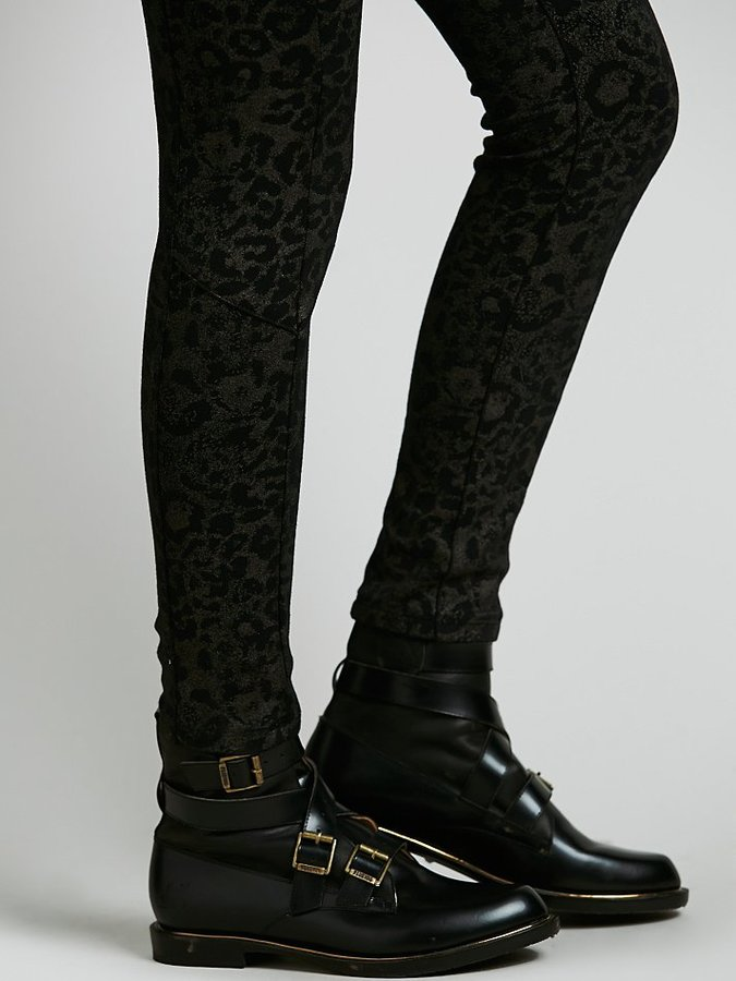 Free People Clouded Leopard Legging