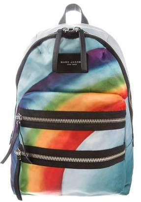 Marc Jacobs Rainbow Print Backpack