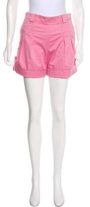 Zac Posen Z Spoke by High-Rise Mini Shorts