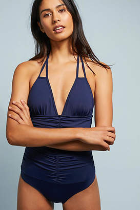 L-Space L Space Ruched Side One-Piece Swimsuit