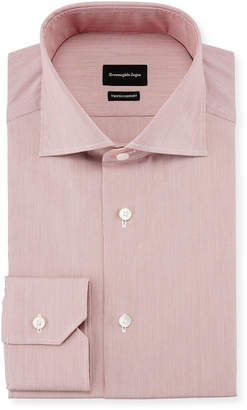 Ermenegildo Zegna Trofeo Comfort Hairline Striped Dress Shirt