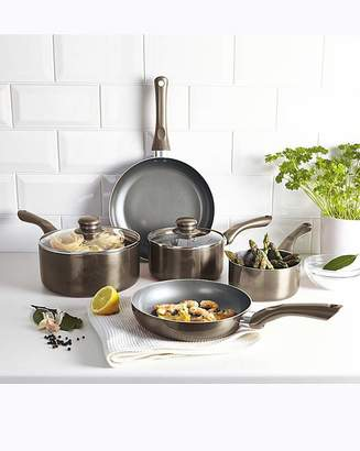 Fashion World Cermalon Pewter 5 Piece Cookware Set
