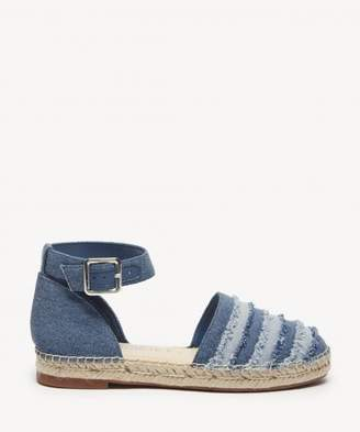 Sole Society Stacie Two Piece Frayed Espadrille