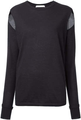Dion Lee slit sleeve jumper