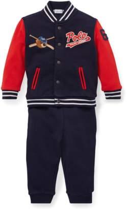 Ralph Lauren Kids Baseball Jacket Pant Set