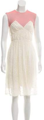 Opening Ceremony Lace Knee-Length Dress