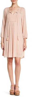 DR2 by Daniel Rainn Smocked Bib Shift Dress (Petite) $78 thestylecure.com