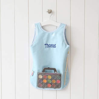 My 1st Years Personalised Blue Painting Apron