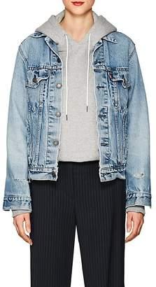 Icons Women's Distressed Denim Jacket