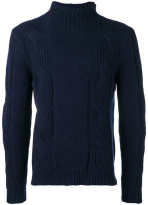 Fay cable-knit sweater