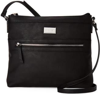 86cd5f8473ad Nine West Black Leather Bag - ShopStyle