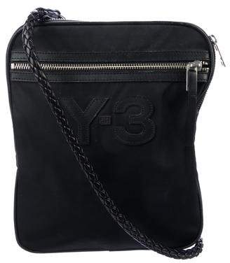 Y-3 Logo Messenger Bag