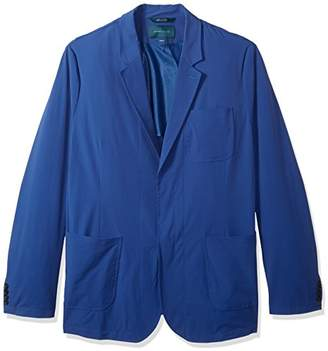 Perry Ellis Men's Big and Tall Solid Stretch Sport Jacket