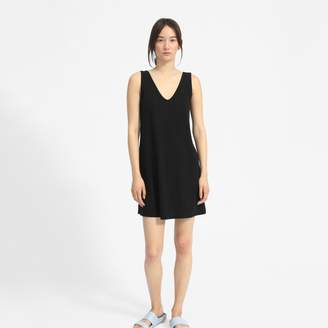 Everlane The Cotton Double V Dress