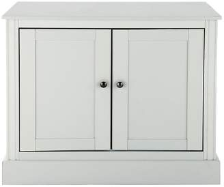 Consort Furniture Limited Dover Ready Assembled Compact Sideboard - Grey