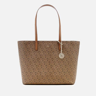 DKNY Women's Bryant Top Zip Carryall Tote Bag