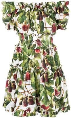 Dolce & Gabbana off the shoulder dress