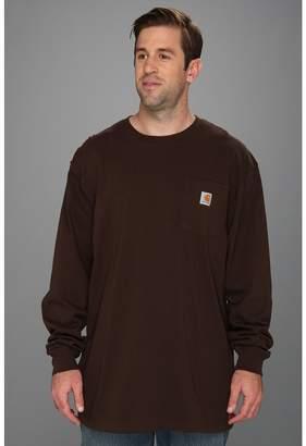Carhartt Big Tall Workwear Pocket L/S Tee Men's T Shirt