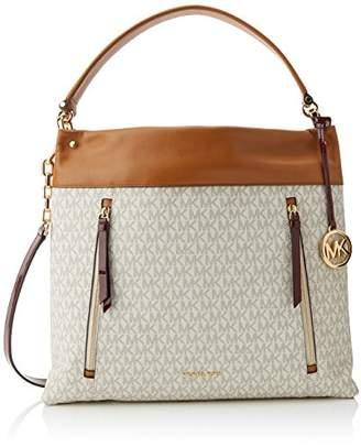 Michael Kors Womens Lex Messenger Bag Multicolour (Van/Acr/Mrlt)