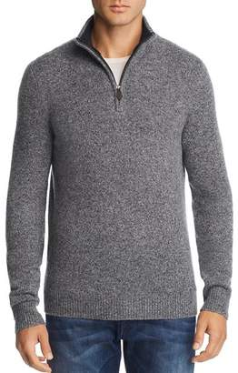 Bloomingdale's The Men's Store at Donegal Cashmere Quarter-Zip Sweater - 100% Exclusive