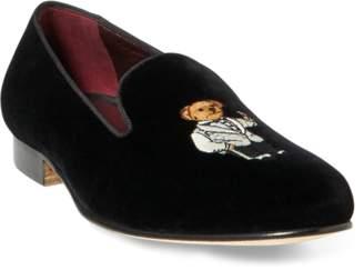Ralph Lauren Alonzo Bear Velvet Slip