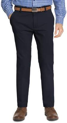 Izod Men's Slim-Fit Performance Stretch Flat-Front Pants