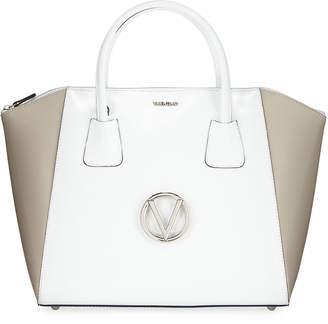 Mario Valentino Valentino By Gigi Soave Leather Tote Bag