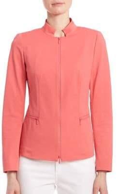 Lafayette 148 New York Fundamental Bi Stretch Mimi Jacket
