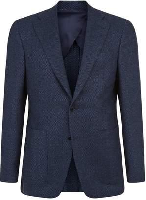 Canali Herringbone Jacket
