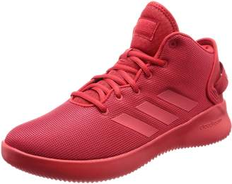 adidas Men Shoes Boots Cloudfoam Refresh Mid Red Basketball Style DA9669 New