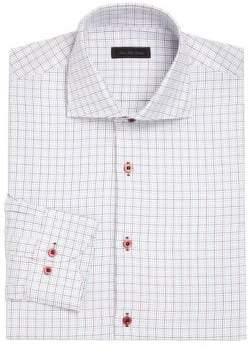 COLLECTION Tattersall Checked Dress Shirt