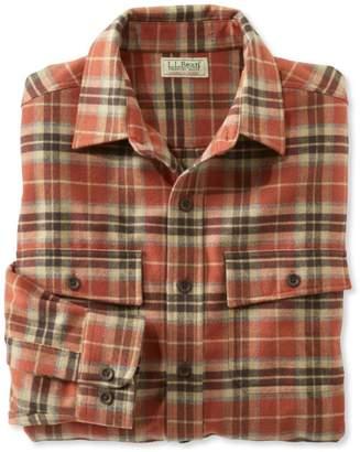 L.L. Bean L.L.Bean Chamois Shirt, Plaid