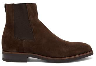 Paul Smith Canon Suede Chelsea Boots - Mens - Brown