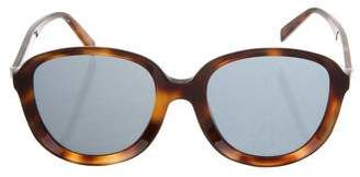 Celine Oversize Tortoiseshell Sunglasses w/ Tags