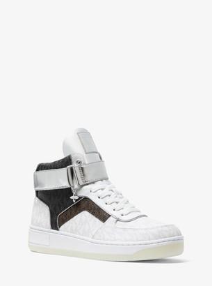MICHAEL Michael Kors Jaden Color-Block Logo High-Top Sneaker