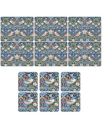 Pimpernel Strawberry Thief Placemats & Coasters