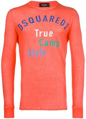 DSQUARED2 True Camp Style print T-shirt