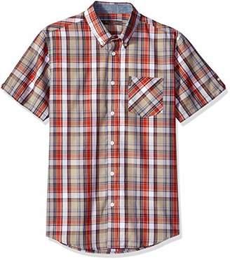 Ben Sherman Men's Madras Plaid Shirt