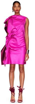 Lanvin Two-Toned Hot Pink Dress