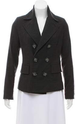 Level 99 Double-Breasted Short Coat
