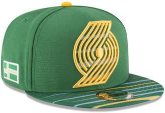 New Era Portland Trail Blazers City Flag 9FIFTY Snapback Cap